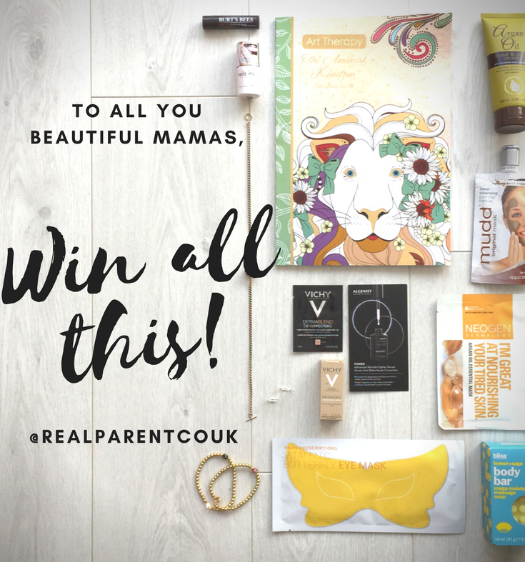 Tag a Mum and Win all this for both of you!