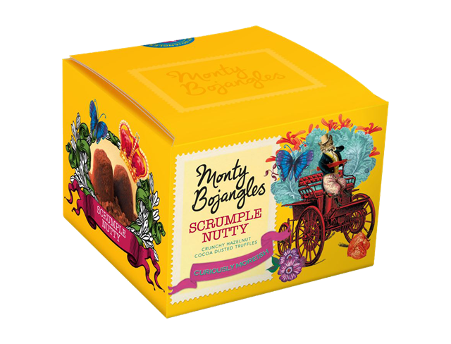 Monty Bojangles Scrumple Nutty Cocoa Dusted Truffles