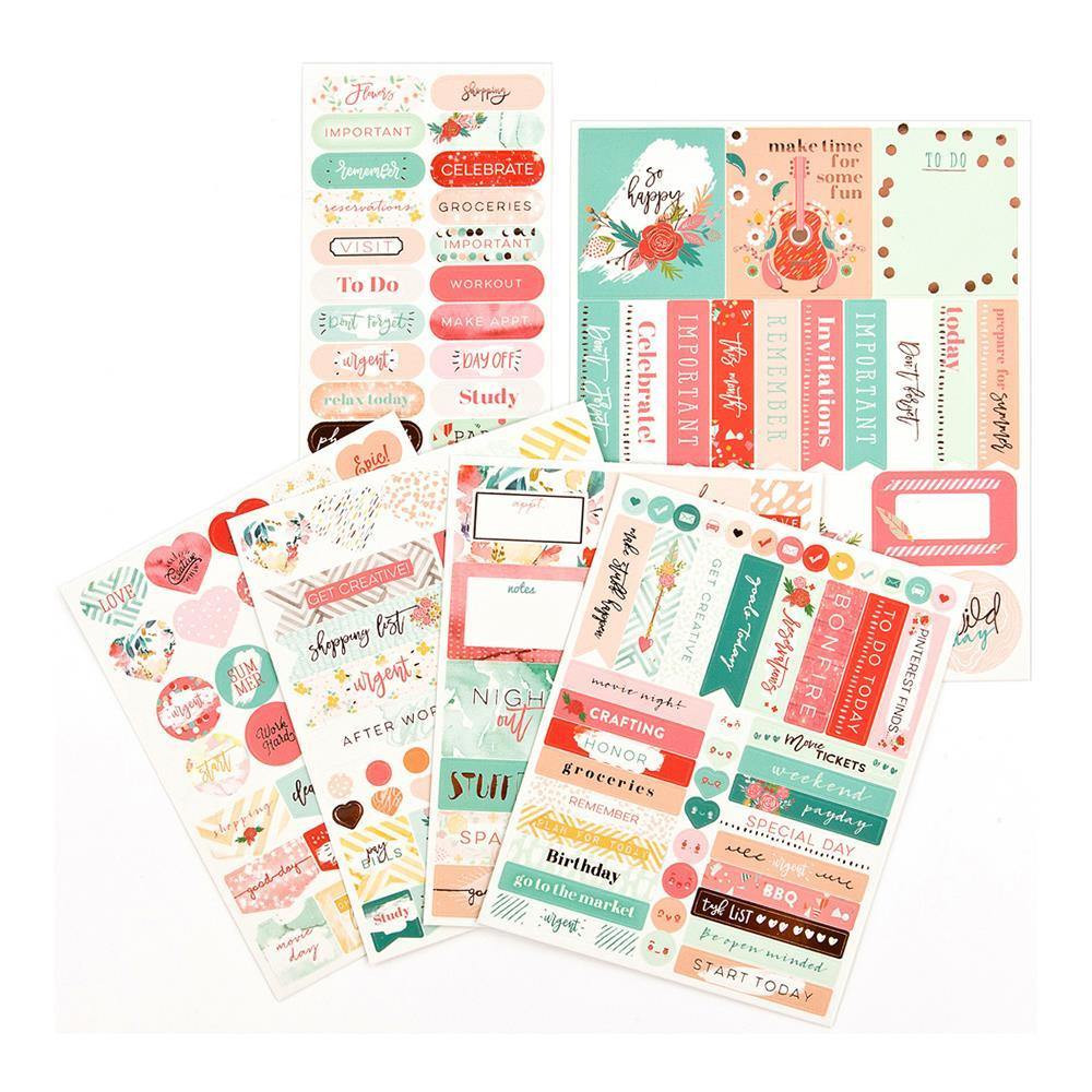 My Prima Planner Stickers - Be Happy