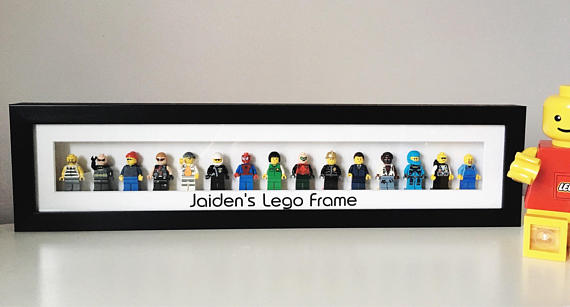 Personalised Lego Minifigure Frame