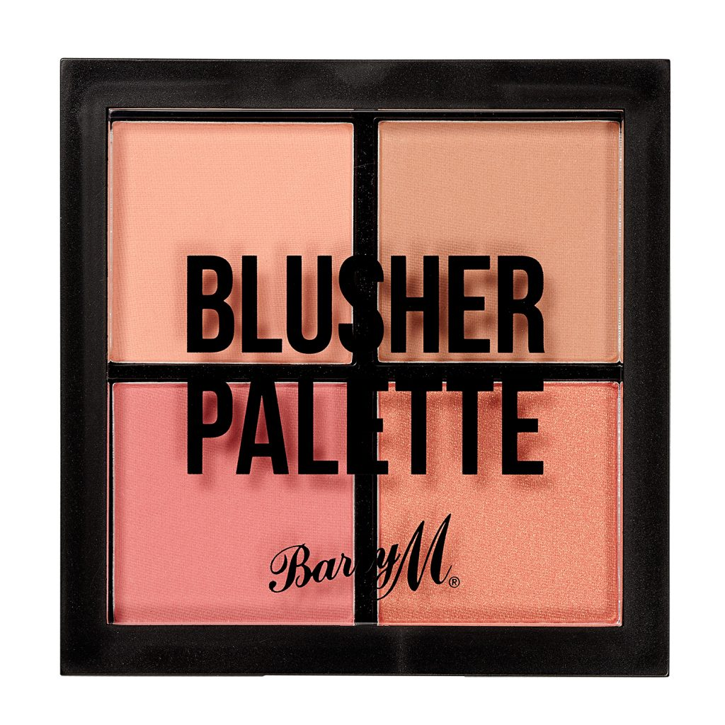 Barry M Blusher Quad Palette