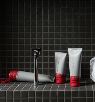 Personalised Shaving Three Month Subscription Gift Set